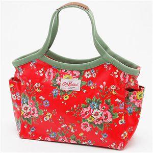 Cath Kidston(キャスキッドソン) バケットバッグ BAKET BAG 254069・Folk Flowers Red