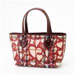 BURBERRY(バーバリー) ハートバッグ Print Heart/Berry Red