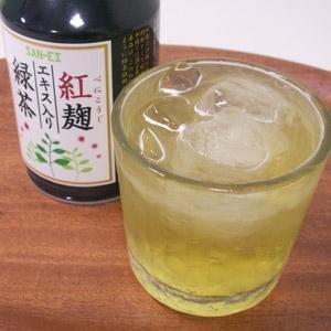 カラダうれしいおいしい!紅麹エキス入り緑茶48本