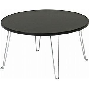 カラーテーブル 丸60 BK CCB600BK ブラック