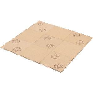 コルクマット(犬柄) 【30cm 9枚組】 厚さ8mm (防音/寒さ対策/汚れ/ケガ防止)