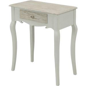 アンティーク調 ドレッサーテーブル/化粧台 【幅60cm】 木製 『ラフィネ』 〔リビング 寝室〕