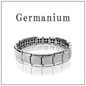 ゲルマニウムブレスレット 80石 シルバー