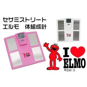 セサミストリート エルモ 体組成計 ピンク