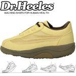 Dr.heelesウォーキングシューズ カジュアル ベージュ 24.5cm