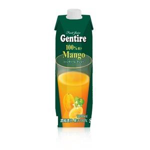 Gentire(ジェンティーレ) マンゴージュース 1L×12本