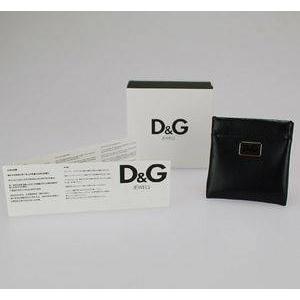 D&G(ディーアンドジー) ラウンドロゴピアス(ゴールド) DJ0956