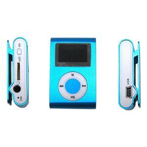 超小型MicroSD挿入型MP3プレーヤー BL(ブルー)