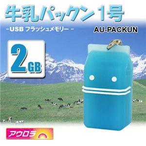 牛乳パック USBメモリ 2GB