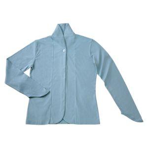 UVスリムカーディガン グレイッシュブルー Lサイズ
