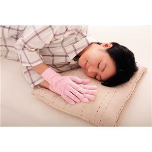 シルクスリーピング手袋 ピンク【2個セット】