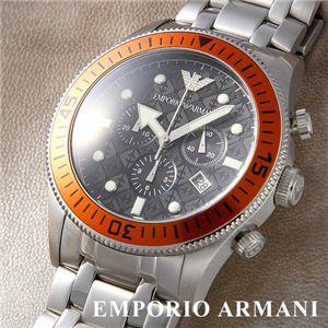 EMPORIO ARMANI ブレスウォッチ AR0552/オレンジ