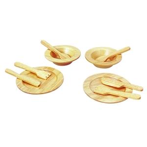 PLAN TOYS(プラントイ) ★木製玩具(木のおもちゃ)★3414★ 食器セット