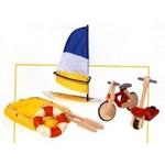 ★PLAN TOYSの木製玩具(木のおもちゃ)★6109★ アウトドアスポーツ