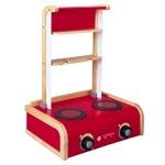★PLAN TOYSの木製玩具★34110★キッチンコンロ(2007年バージョン)