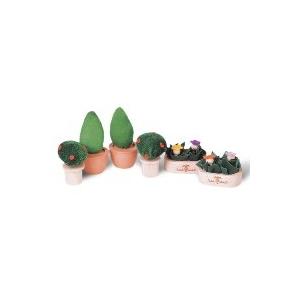 PLAN TOYS(プラントイ) ★木製玩具(木のおもちゃ)★7336★ パティオプラントセット