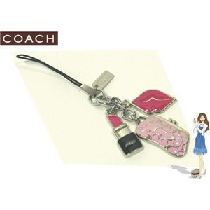 COACH(コーチ) ストラップ コスメティック ミックス セルフォン ランヤード 92302
