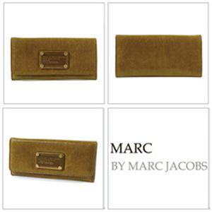 【NEW】MARC BY MARC JACOBS (マーク バイ マーク ジェイコブス) ロング レザー 長財布 キャメル