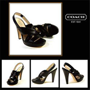 COACH(コーチ) アスター サンダル Q629 ブラック
