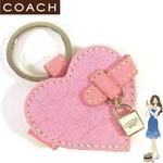 Coach(コーチ) キーホルダー シグネチャー ハート ピクチャー フレーム キーフォブ 92452