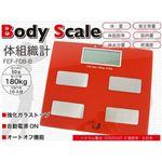 多機能体組織計 Body Scale FEF-F08-B 赤