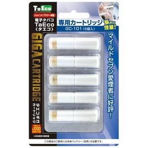 「TaEco」(タエコ)専用交換ギガカートリッジ(マイルドセブン愛煙者に好評[G-101])5本入り