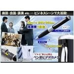 【ペン型】盗撮厳禁・会議やビジネスシーンで使える 小型ビデオカメラ