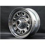 DAYTONA(デイトナ) 自動車用ホイール CHROME 16インチ ×7J +35 6穴 4本(1台分)