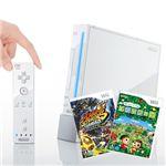【期間限定1月13日まで】Wii本体+新作『どうぶつの森』+マリオ