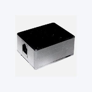 ベル線などのコードをモジュラローゼットにします ミヨシ(MCO) テレホンローゼット6極2芯 MK-201BK