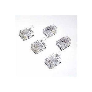 ミヨシ(MCO) 加工用6極4芯モジュラープラグ MK-604P/F