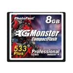 PhotoFast G-Monster 533倍速 PLUSテクノロジー コンパクトフラッシュカード8GB GM-533CF8SL