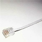 ミヨシ(MCO) フラットLANケーブル(カテゴリー6準拠) 10m TWF-610W