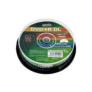 磁気研究所 HIDISC DVD+R DLデ-タ用メディア レーベル ワイドタイプ プリンタブル白10枚 HDD+R85HP10 【20個セット】