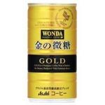 【2011年12月28日12時までのご注文は年内出荷】アサヒ ワンダ 金の微糖 185g 60本セット