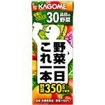 【2011年12月28日12時までのご注文は年内出荷】カゴメ 野菜一日これ一本 200ml 72本セット