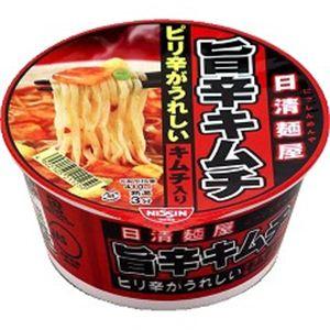 【2011年12月28日12時までのご注文は年内出荷】日清食品 日清麺屋 旨辛キムチ 75g 36個セット