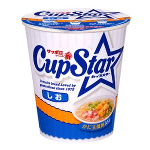 【2012年1月6日より順次発送】サンヨー食品 サッポロ一番 カップスター しお 77g 36個セット