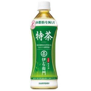 【ケース販売】 サントリー 緑茶 伊右衛門 特茶(特定保健用食品/トクホ飲料) 500mlペットボトル 48個セット まとめ買い