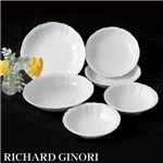 RICHARD GINORI(リチャードジノリ) ドッチャホワイト 20cm ボウル 4枚組