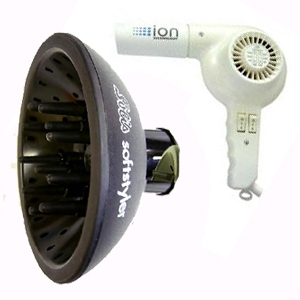 Solis(ソリス) ハンドドライヤー イオンテクノロジー 315(ホワイト) × ソフトスタイラーS(ブラック) セット 【業務用】