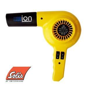 Solis(ソリス) ハンドドライヤー イオンテクノロジー 315 イエロー 【業務用】