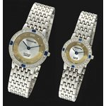 ペレバレンチノ 純金ダイヤ宝飾時計 メンズ