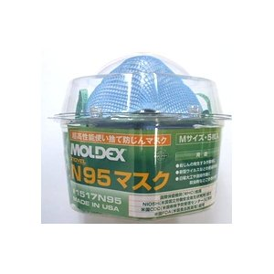 MOLDEX N95マスク 医療プロ用 ロッカー Mサイズ 【2箱セット】