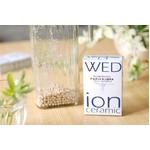 WED(ウェッジ) ion ceramic(イオンセラミック) 100g & ガラスポットセット 【ゼオライト機能性イオンセラミックで、アルカリイオン還元水を】