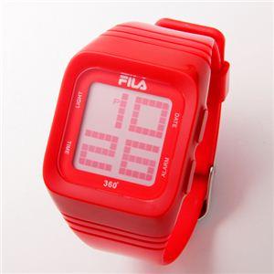 FILA(フィラ) 360゜SENSOR デジタルウォッチ FCD001-102 レッド