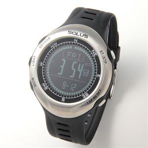 SOLUS(ソーラス) ハートレートモニター 心拍時計 Pro110 01-110-001 ブラック