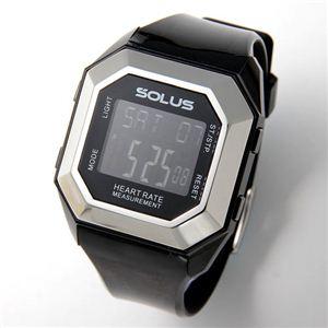 SOLUS(ソーラス) ハートレートモニター 心拍時計 01-840 01-840-01 ブラック