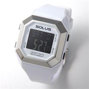 SOLUS(ソーラス) ハートレートモニター 心拍時計 01-840 01-840-02 ホワイト