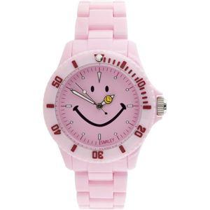 SMILEY(スマイリー)腕時計 SMILEY Harvey Ball(スマイリーハーベイボール) ピンク WGHB-PP-PKV01